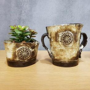 Marokko Töpfchen aus Keramik