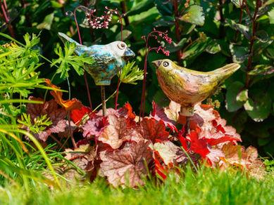Keramikvogel Gartenkeramik kaufen