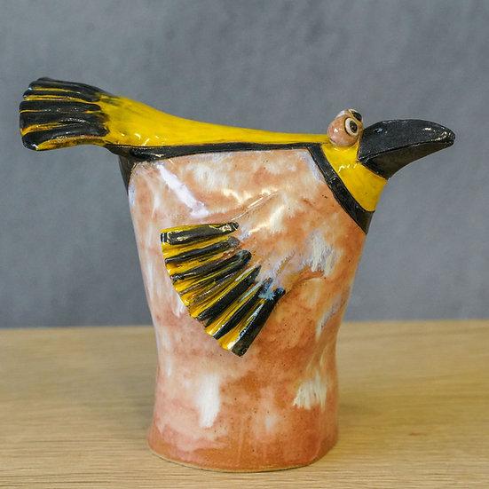 Tüten-Vogel Gelbkopf