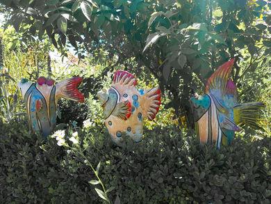 Tütenfische Fische kaufen Gartenkeramik