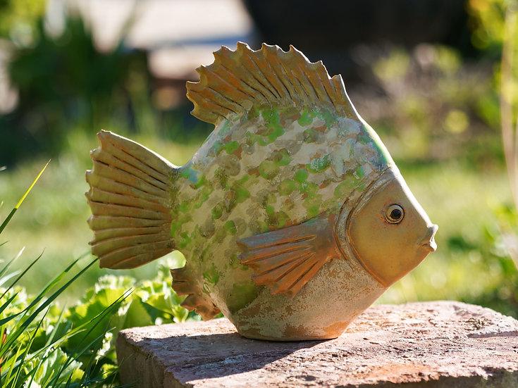 Flach-Fisch 'Moos'