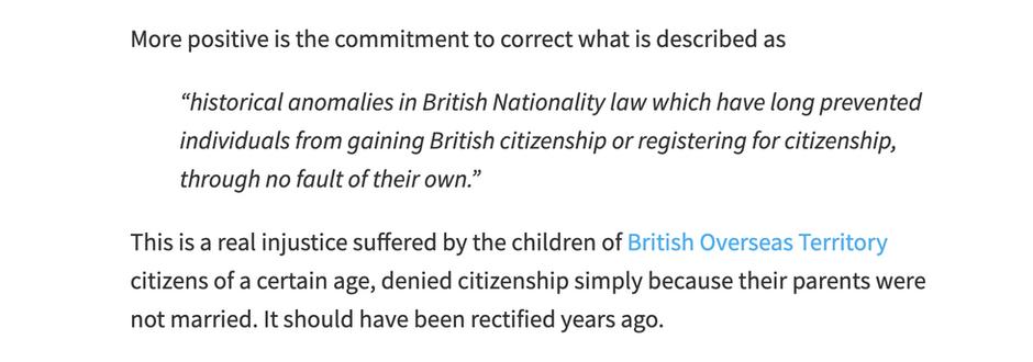 Queens Speech Debate - Baroness Lister 18 May 2021. BOTC Citizenship