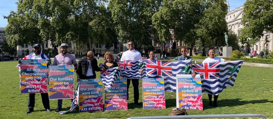 Nationality & Borders Bill - London Visit, MP's, UKOTA & Meeting Chagossian Children