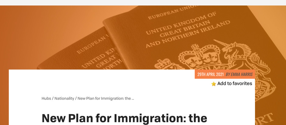 Free Movement article on BOTC Discrimination by Emma Harris, Barrister, Goldsmiths Chambers.