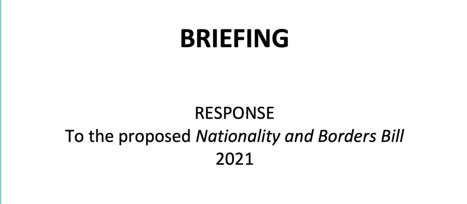 Chagossian Voices - Briefing - Responses to Nationality & Borders Bill