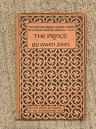 May 2020: Title: ['GwenJohn' [Gladys Jones], dramatist.] Two Autograph Letters Signed (both 'GwenJohn') and three corrected copies of her published play 'The Prince'; Typed Letter Signed from Victor Gollancz to H. F. Rubinstein, copies of two letters by Rubinstein.