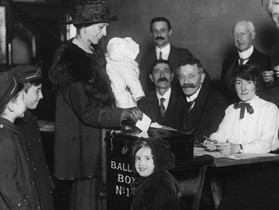 Nearly 100 Years Later....Women and The Vote 1918 - 2017