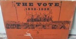 December 2019: Jackdaw No. 16, The Vote, 1832-1928  (1965)