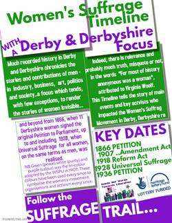 Womens Suffrage Movement in Derbys and Derbyshire 1866 - 1928 1