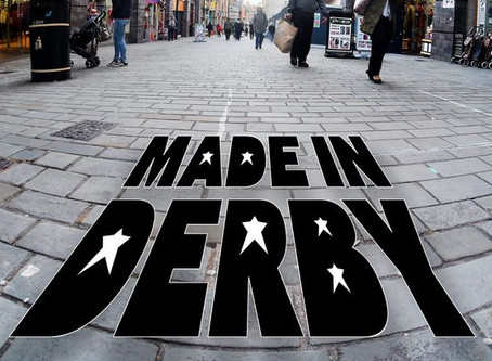 Made in Derby Walk of Fame 50:50 List Campaign Launched November 19th 2017