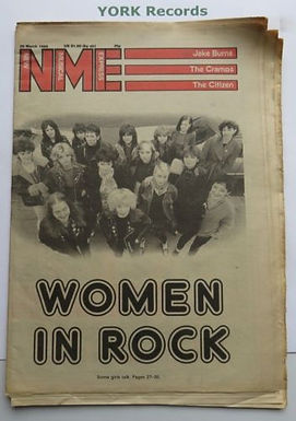 May 2018: NME Women in Rock, March 29, 1980