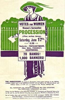March 2017: Which Derby Born Woman Was a Suffragette Artist?