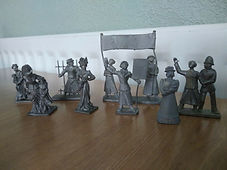 1 Hand Cast Lead Suffragettes 1 32 Scale