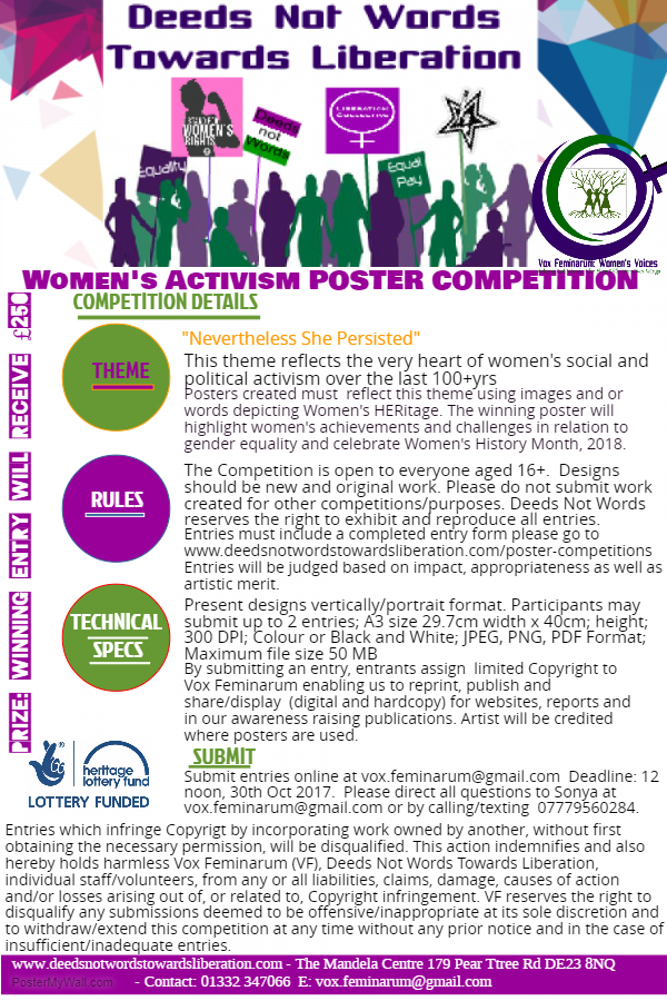Poster competition over 16