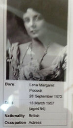 April 2020: Lena Ashwell Suffragette actress theatre manager who entertained troops at The Western Front Collection