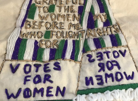 The Making of  a Commemorative Quilt