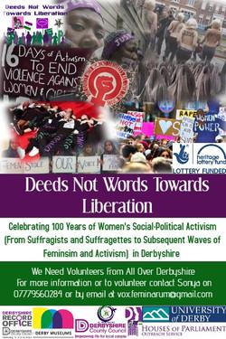 deeds not words banner 2