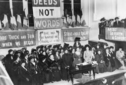 Suffragettes England 1908