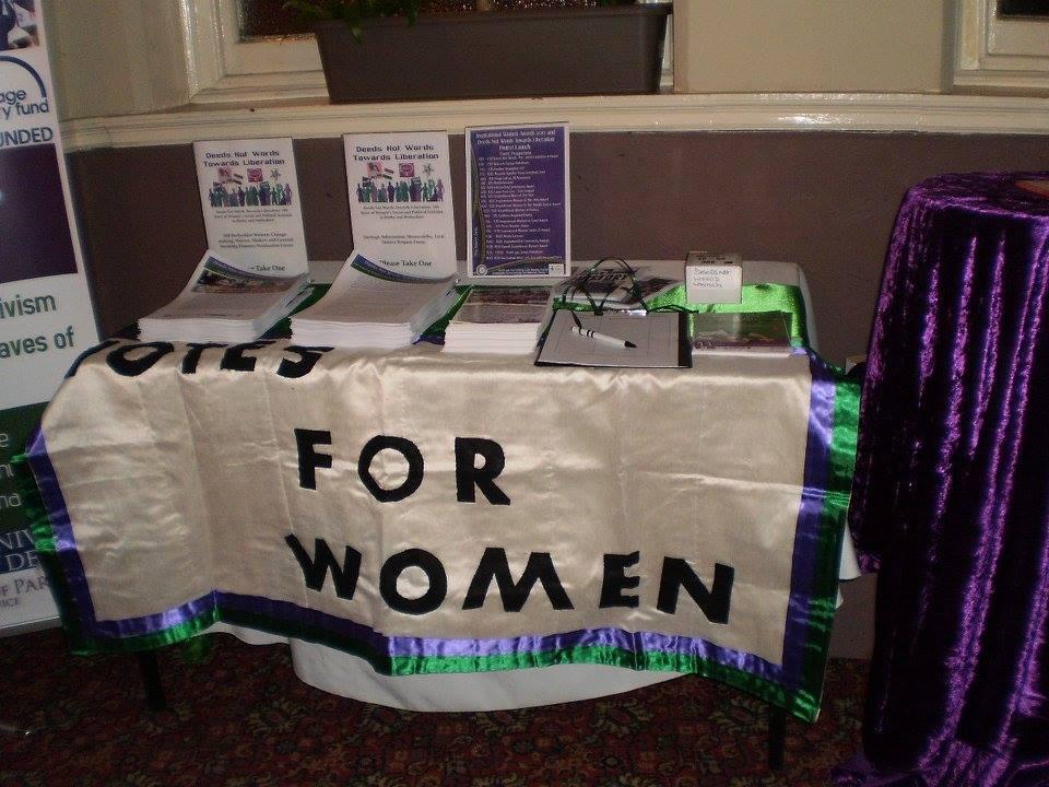 Votes For Women - tricolour