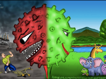 Otra mirada sobre el virus