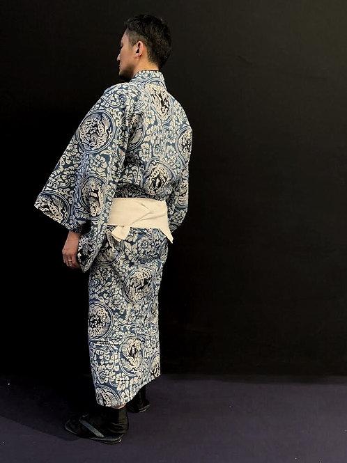 YUKATA (Blue)