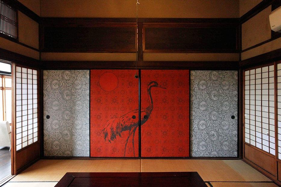 Tsukinitsuru Crane Wallpaper