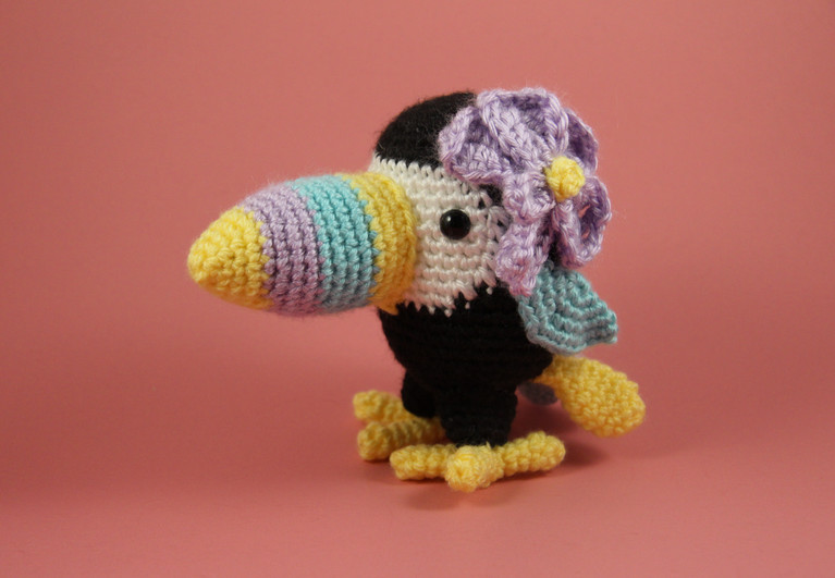 Orchid the Toucan
