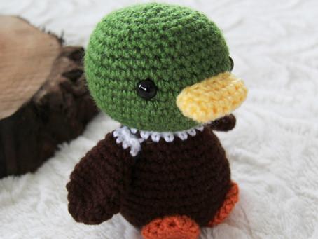 Free Pattern: Duckling!