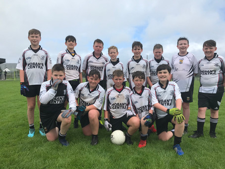 U12s do the business in Louisburgh - just!
