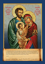 Holy Family Consecration Picture WESTPOR