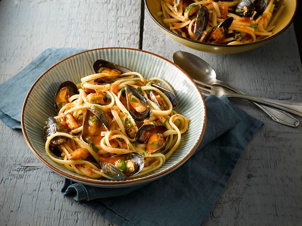 Chilli and Garlic Flavoured Mussels with
