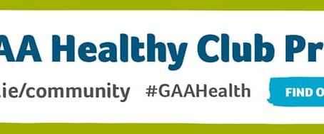 "Kilmeena GAA and Kilmeena LGFA: working to be a ""Healthy Club"""