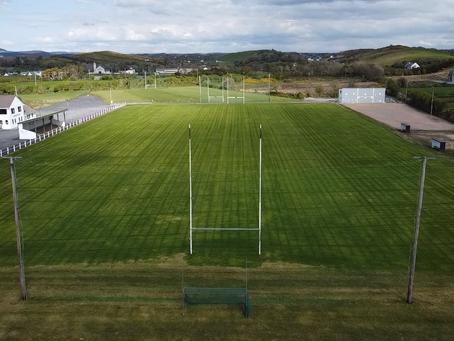 Main pitch taking shape