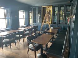 "New first floor ""front room"" restaurant"