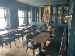 "New first floor ""front room"" restaurant"