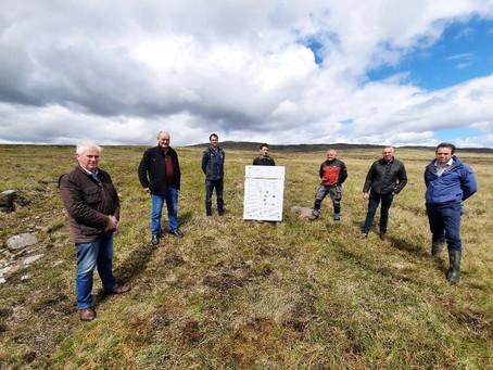 National IFA members visit Owenduff/Nephin SAC to discuss issues Wild Atlantic Nature staff