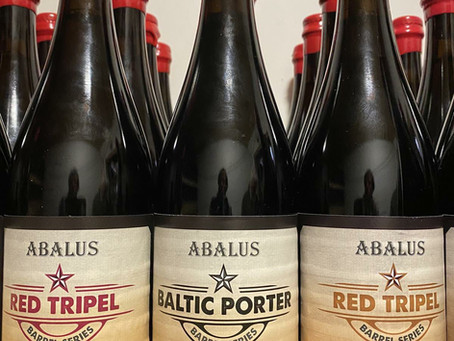 We are releasing 100 bottles from our forthcoming Abalus Series of barrel-aged beers for Christmas