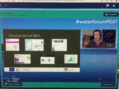 Wild Atlantic Nature among speakers at the Water Forum Managing Peatlands seminar