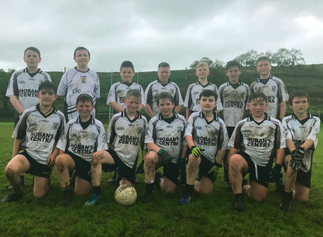 Mucky start to the season for our U12s!