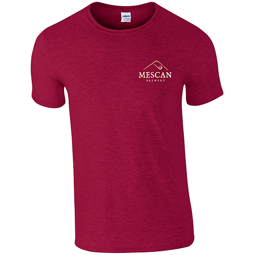 Mescan Classic T-Shirt Red Standard Fit