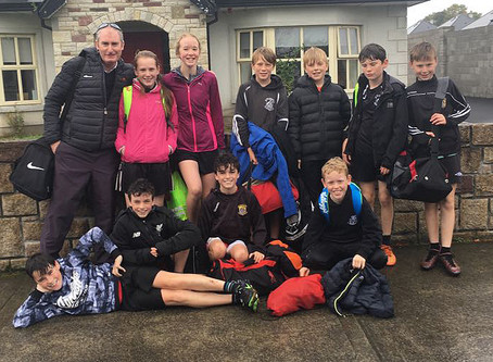 St Brendan's athletes do their school proud at the Mayo Cross Country Championships