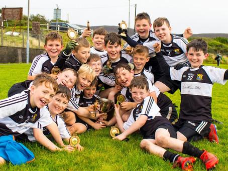Kilmeena U10s blow away all opposition to win the Gearóid Murphy Memorial Cup in Achill