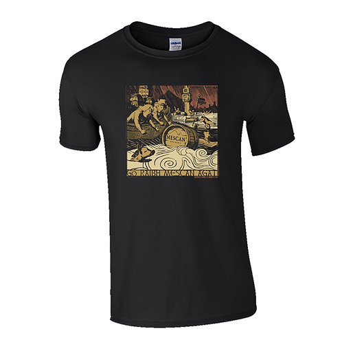 Mescan T-Shirt Black Standard Fit