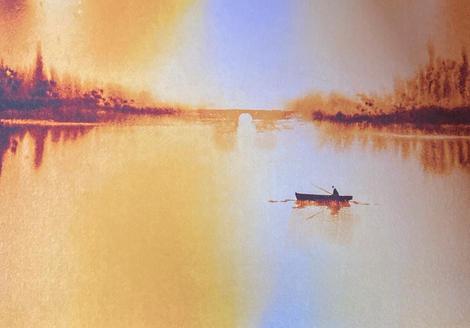 Fishing at Sunset (P.O.A.)