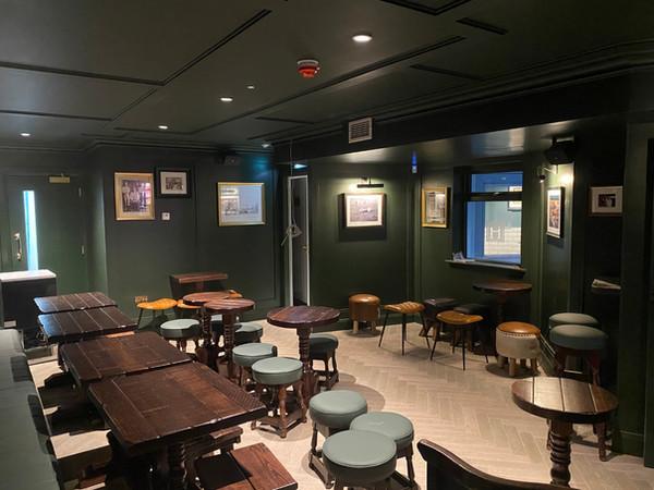 Music lounge afrer refurbishment