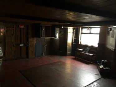 Music lounge before refurbishment
