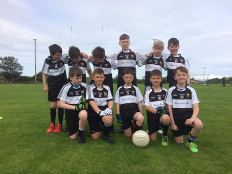 U10 boys impress in Paddy Golden Blitz