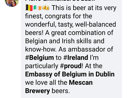 A Christmas message from Belgium's ambassador to Ireland