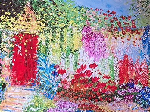 Painting; Red Door