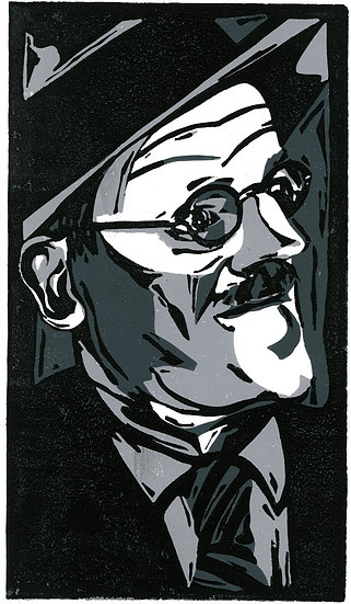 James Joyce / Pack of 6 cards